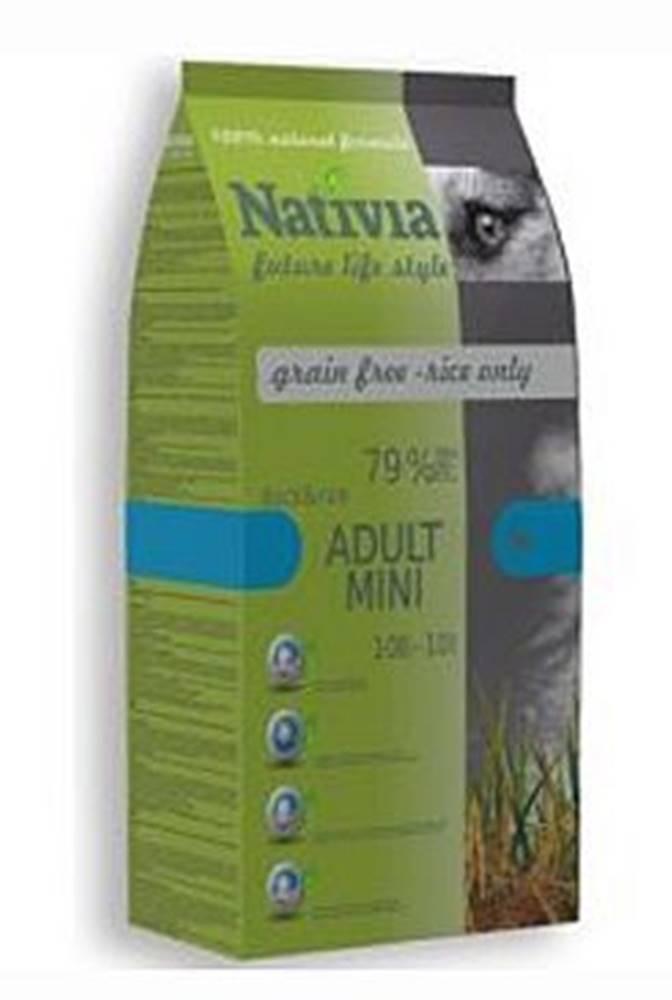 Nativia Nativia Dog Adult Mini Duck&Rice 3kg