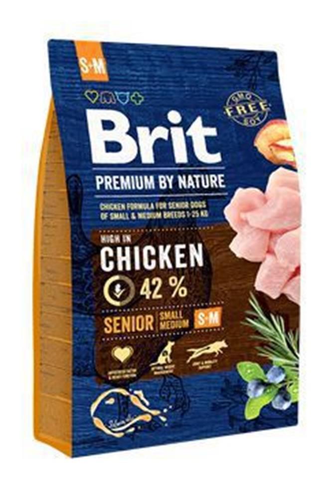 Brit Brit Premium Dog by Nature Senior S+M 3kg