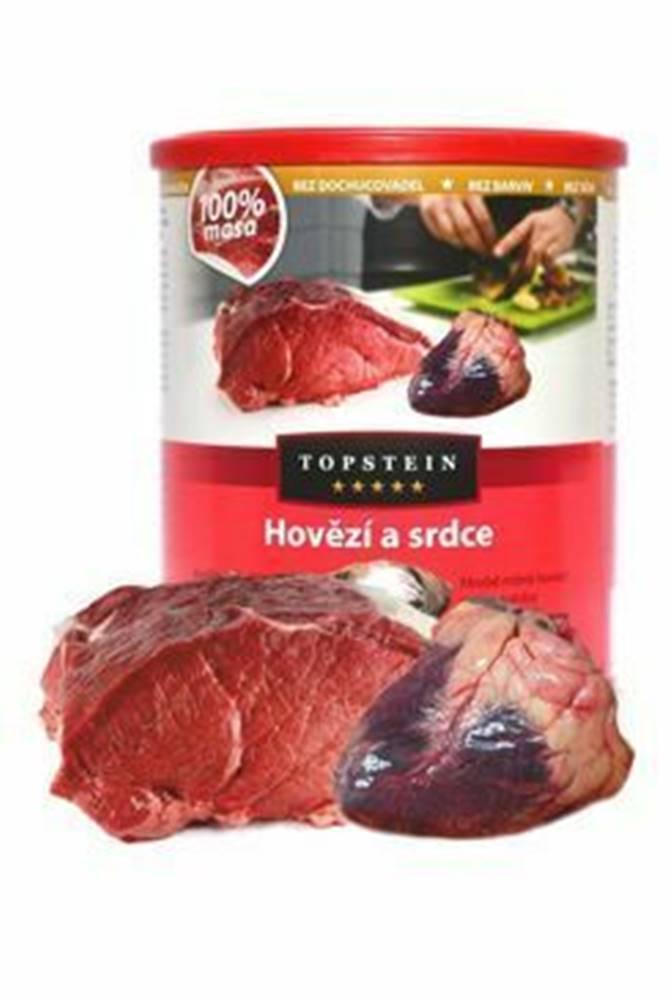 Topstein Topstein Hovädzie a srdce v plechu 800 g
