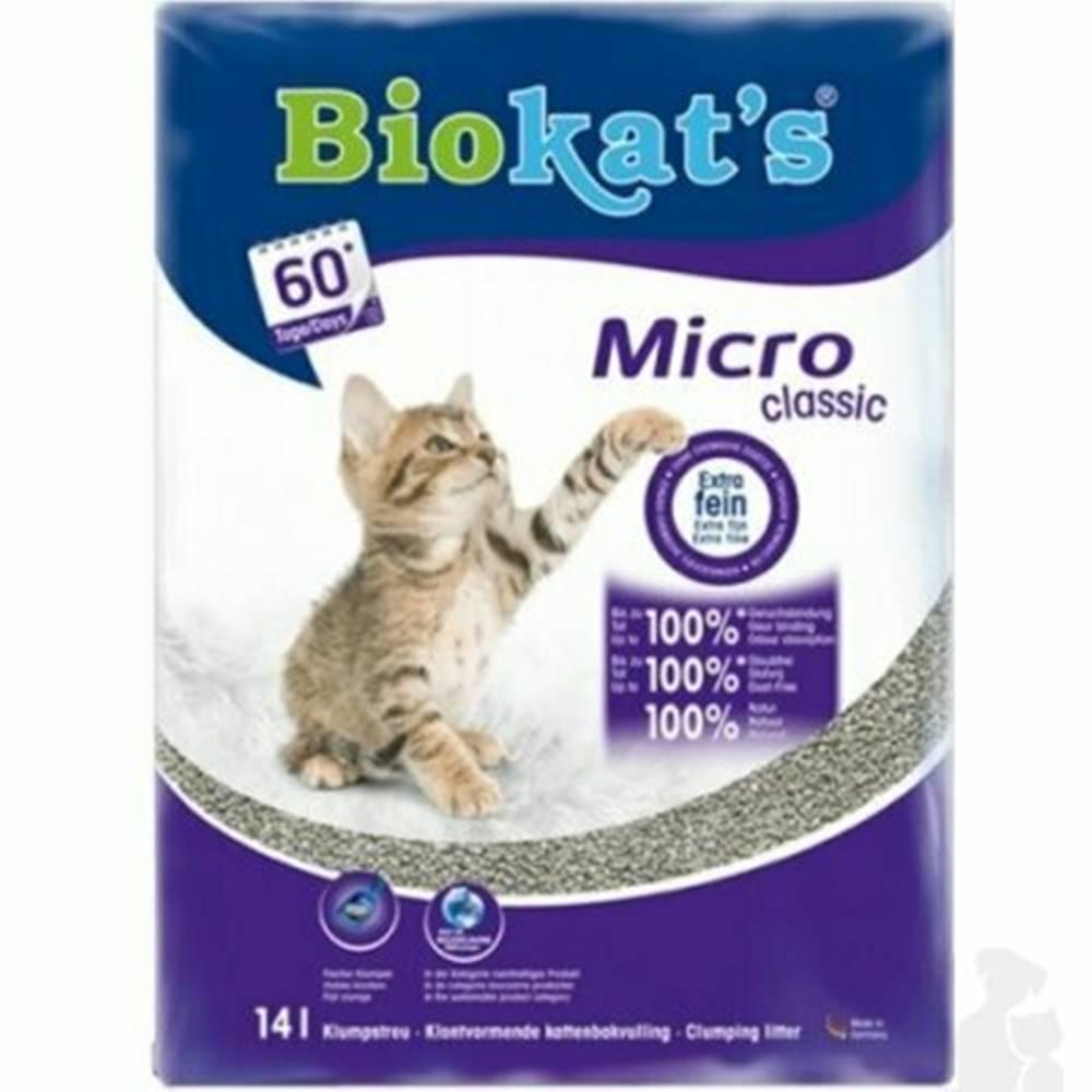 Biokat ´s Podstielka Biokat 's MICRO CLASSIC 14l