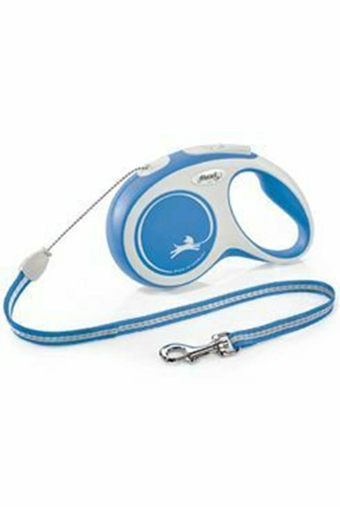 Flexi Vodítko FLEXI Comfort S lanko 5m / 12kg modrá NEW