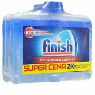Čistič pre umývačky FINISH 2x250ml