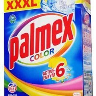 Prací prostriedok Palmex Color 4,1 kg 63 dávok BOX