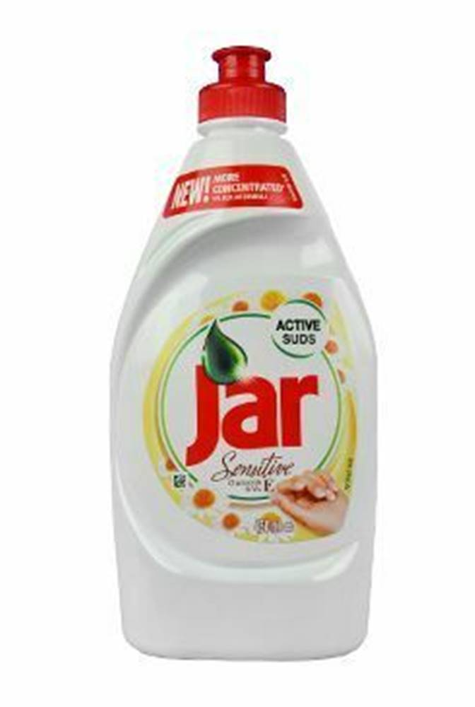 Jar Saponát na riad Jar Sensitive Chamomile 450ml