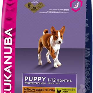Eukanuba Dog Puppy&Junior Medium 15kg