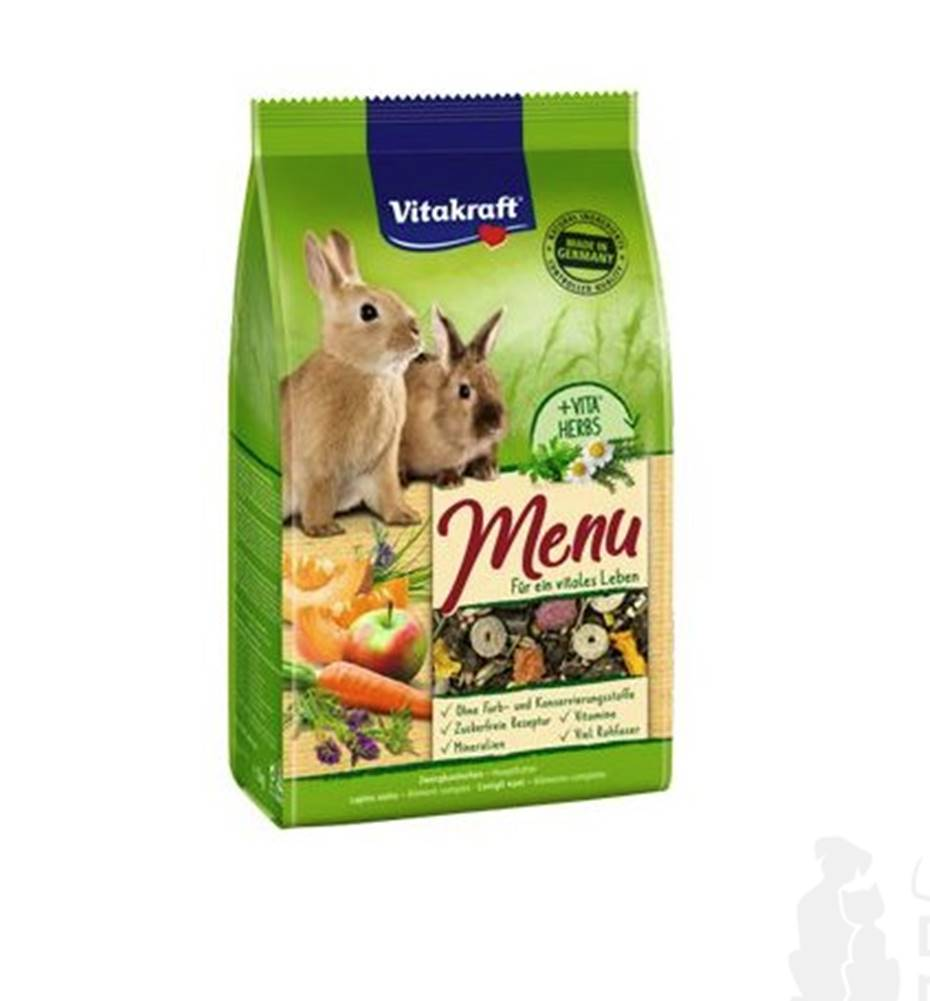 Vitakraft Vitakraft Rodent Rabbit krm. Menu Vital 1kg