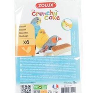 Sušenky pták CRUNCHY CAKE APPLE BANANa 6ks 75g Zolux