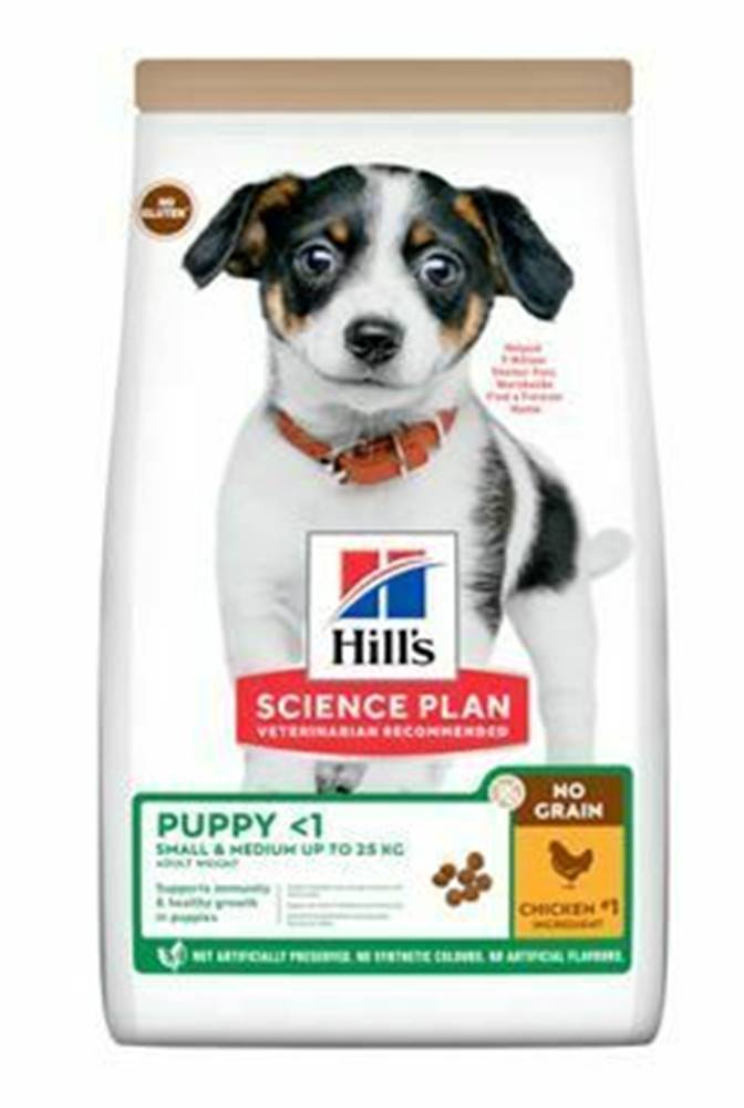 Hill's Hill's Can.Dry SP Puppy NoGrain Chicken 2,5kg