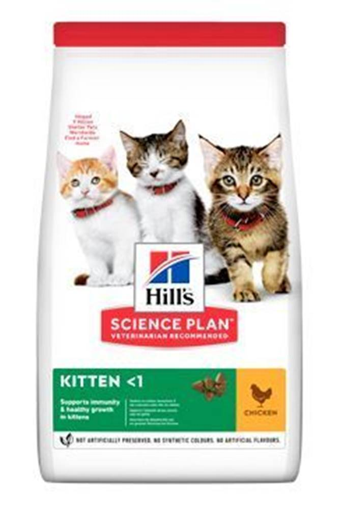 Hill's Hill's Fel. Dry Kitten Chicken 1,5kg