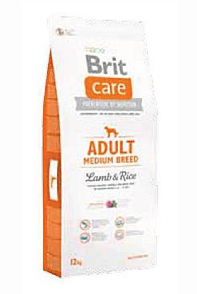 Brit Brit Care Dog Adult Medium Breed Lamb & Rice 3kg