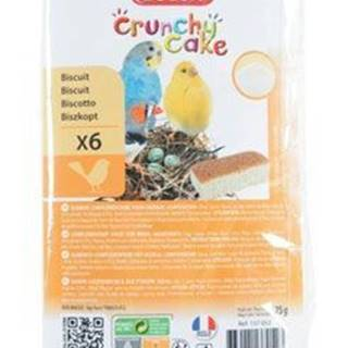 Sušienky vták Crunchy CAKE GROWTH 6ks 75g Zolux
