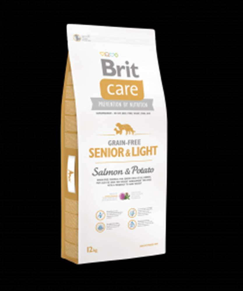 Brit Brit Care Dog Grain-free Senior Salmon & Potato 12kg