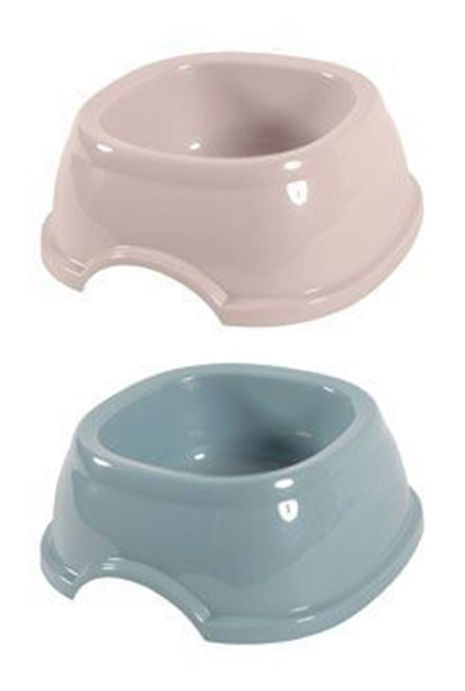 Zolux Miska plast protiskluz pes 0,6l mix barev Zolux NEW