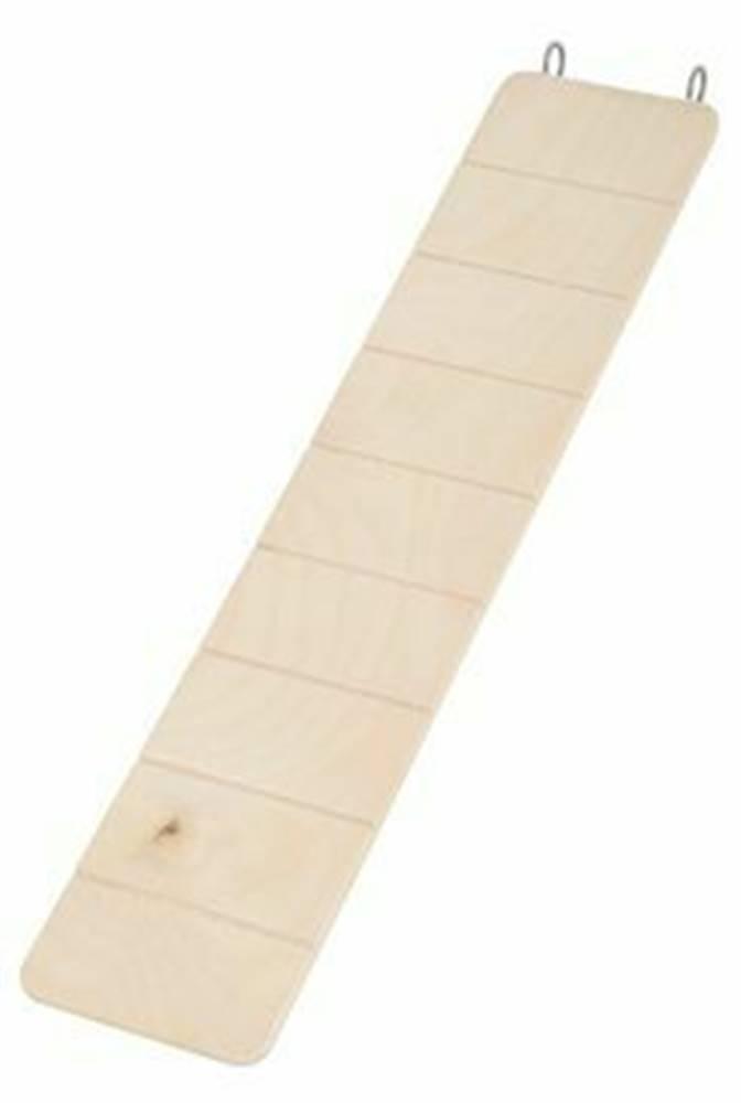 Zolux Rebrík pre hlodavce drevený 45x9,5cm Zolux