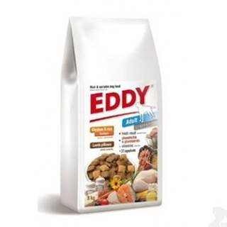 EDDY Junior Large Breed  polštářky s jehněčím 8kg