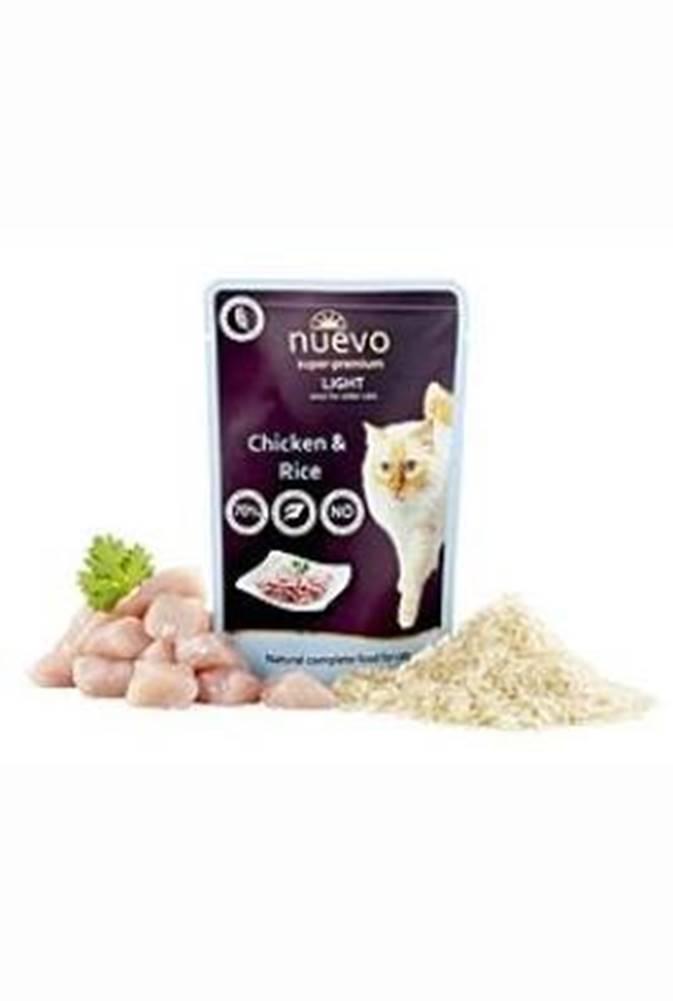 Nuevo Nuevo kočka Light kuřecí s rýží kapsa 85g