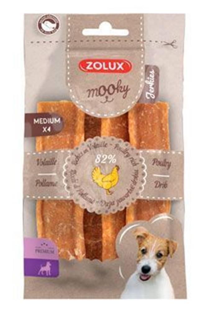 Zolux Pochúťka Mook Premium hydinové M 4ks Zolux