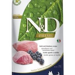 N&D PRIME DOG Adult Mini Lamb & Blueberry 7kg