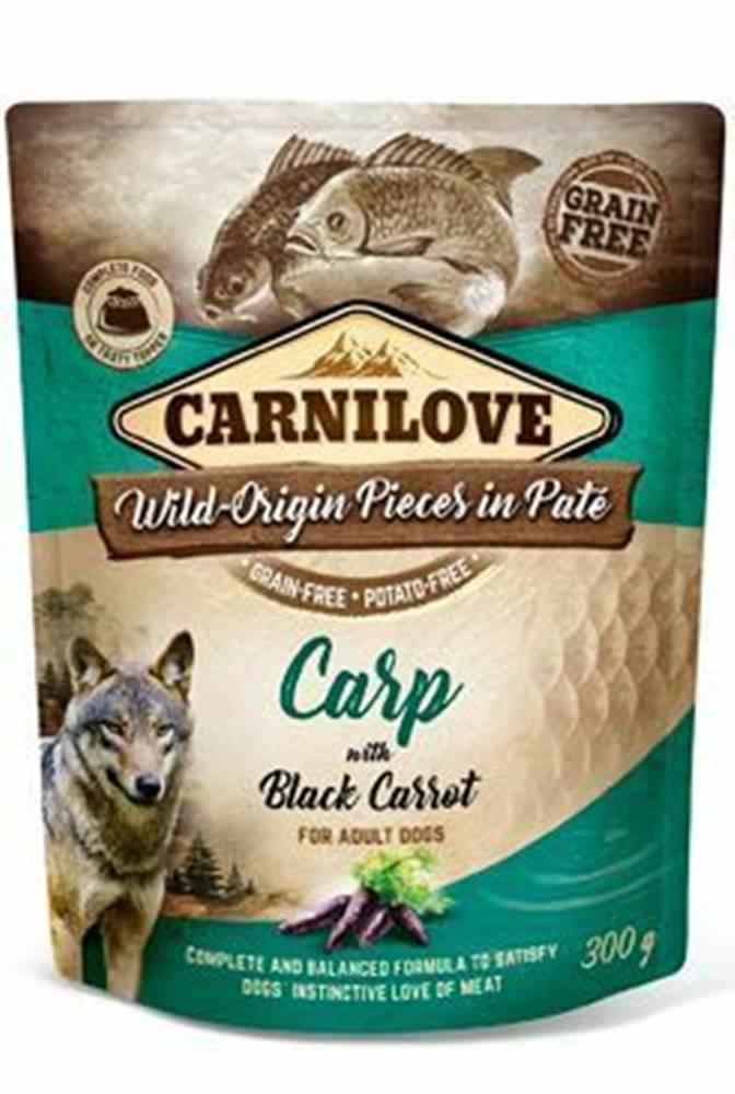 Carnilove Carnilove Dog Pouch Paté Carp & Black Carrot 300g