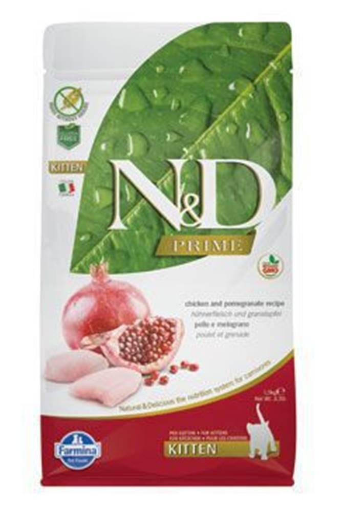 N&D N&D PRIME CAT KITTEN Chicken & Pomegranate 1,5kg