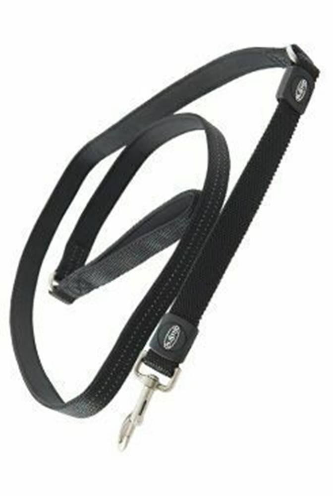 Kruuse Jorgen A/S Vodítko BUSTER Neoprene Bungee S / M 180cm / 20mm čierne