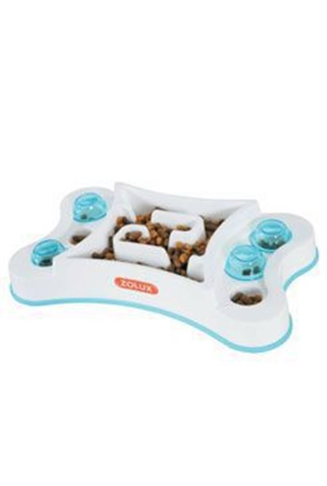 Zolux Miska proti hltání protiskluz obdélník pes 600ml Zolux
