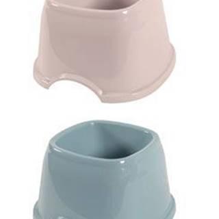 Miska plast kokršpaněl 0,7l mix barev Zolux NEW