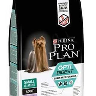ProPlan Dog Adult Sm&Mini OptiDigest GrainFr krůt 7kg