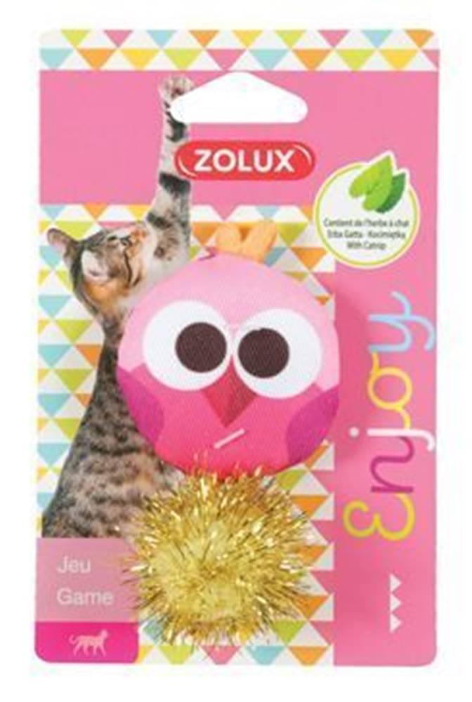 Zolux Hračka mačka LOVELY s santa sova Zolux