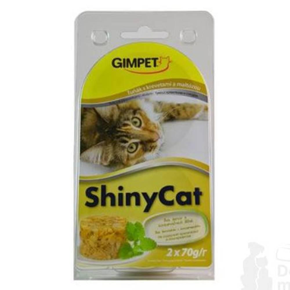 Gimpet Gimpet kočka konz. ShinyCat tuňak/krev/maltóza 2x70g