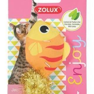 Hračka mačka LOVELY s santa ryba Zolux