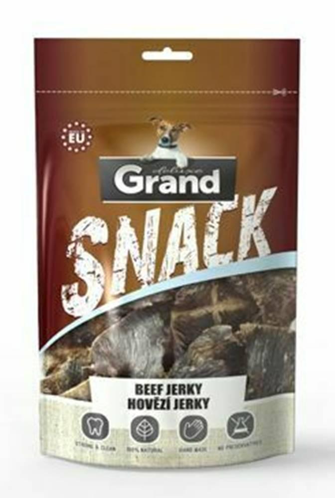 Grand GRAND Deluxe Hovädzie jerky pochúťka pre psov 100g