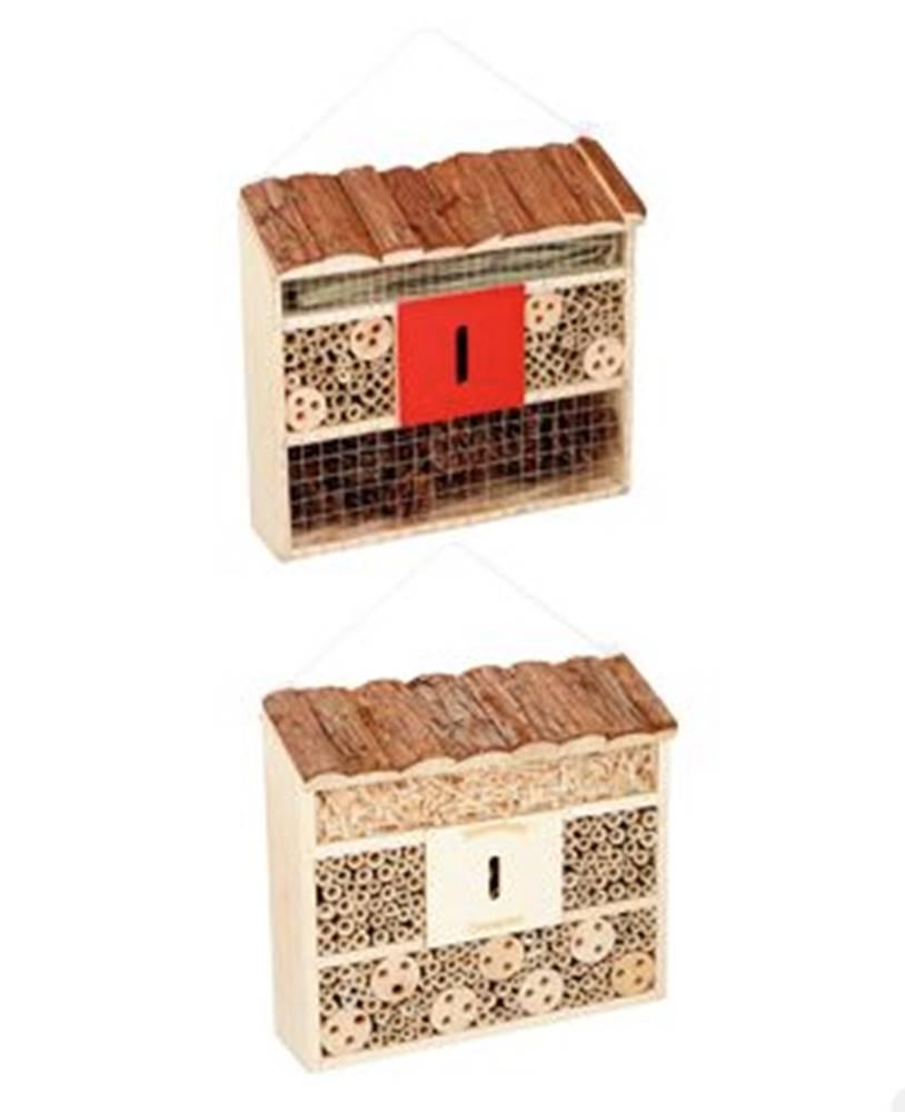 PetGift Hotel pre hmyz multifunkčné 30x10x28cm drevený