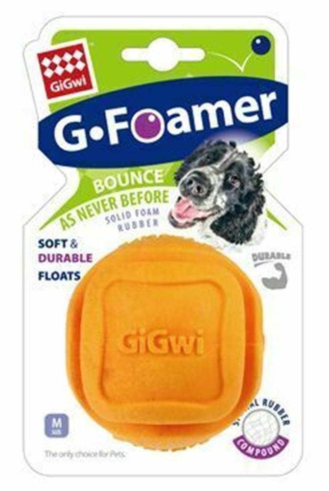 GiGwi Hračka pes GiGwi Foamer Ball loptička z tvrdenej peny oran