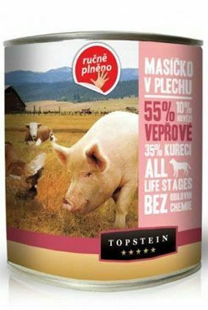 Topstein Topstein Mäsko v plechu - bravčové 850 g