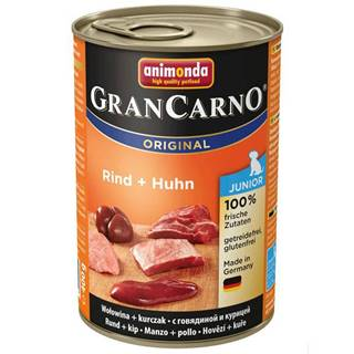 Animonda dog konzerva Gran Carno Junior hovädzie / kuracie - 400g