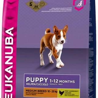 Eukanuba PUPPY/JUNIOR medium - 3kg