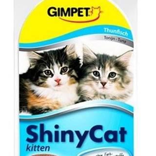 GIMPET SHINY cat  KITTEN tuňák - 2x70g
