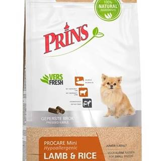 PRINS ProCare MINI LAMB/rice hypoalergenní - 3kg
