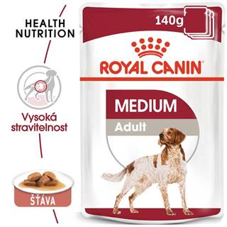 Royal Canin Medium Adult - kapsička pro dospělé střední psy - 140g