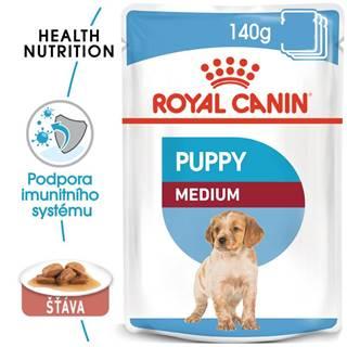 Royal Canin Medium Puppy - kapsička pro střední štěňata - 140g