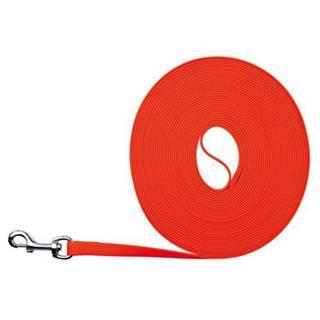 Vodítko EASY LIFE trekové PVC neon oranžové - 1,7cm / 5m