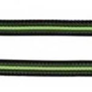 Vodítko  FUSION  1,7cm / 1m / S-L - černo-oranžový