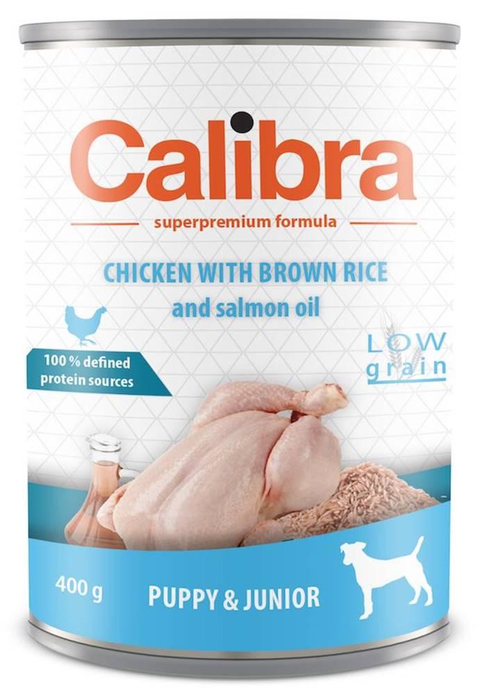 Calibra CALIBRA konz. JUNIOR KUŘE / hnedá ryža - 400g