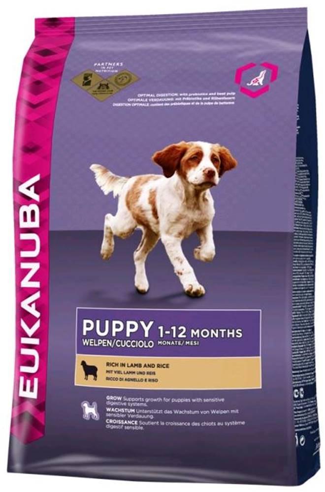 Eukanuba Eukanuba PUPPY/JUNIOR lamb - 2,5kg