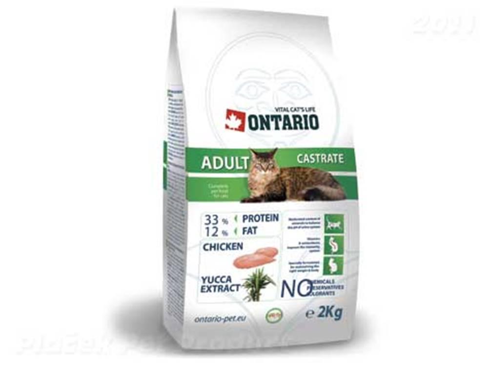 Ontario ONTARIO cat  CASTRATE - 2 kg