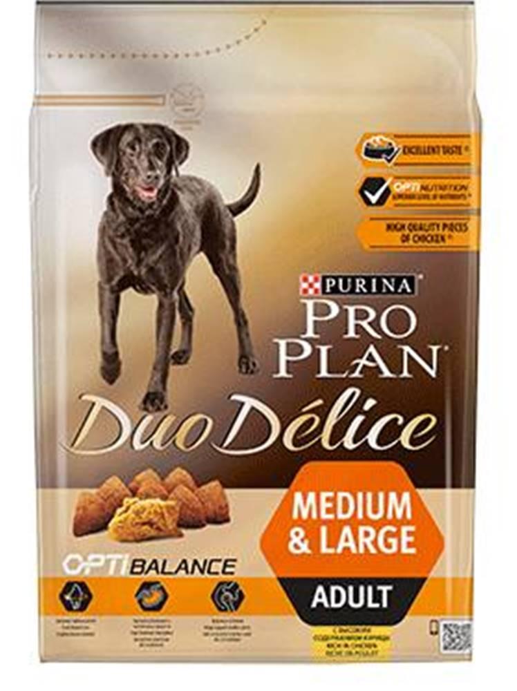 Purina PROPLAN  DUOdelice MEDIUM/LARGE chicken - 2,5kg