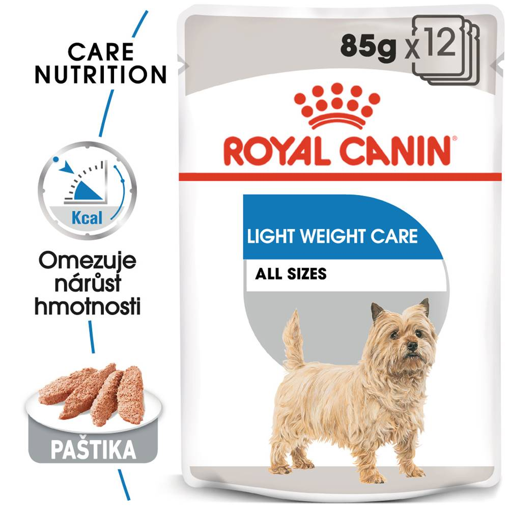 Royal Canin Royal Canin Light Weight Care Dog Loaf - dietní kapsička s paštikou pro psy - 85g