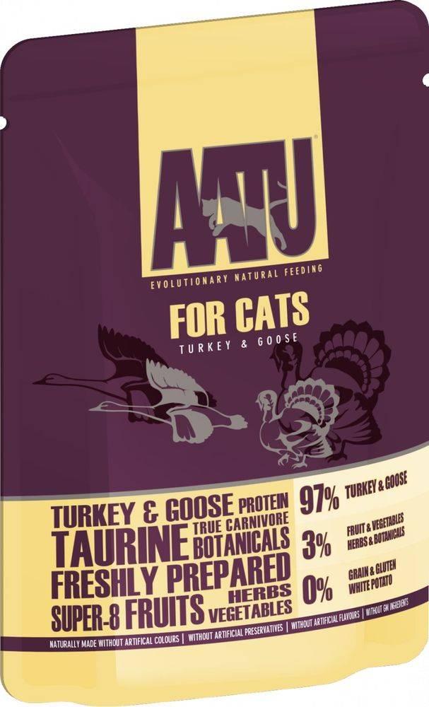 (bez zařazení) Aatu cat kapsa TURKEY / GOOSE - 85g