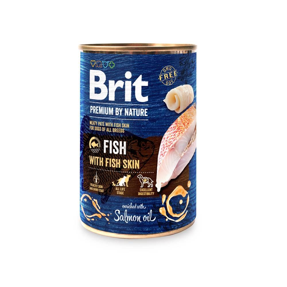 Brit BRIT dog Premium by Nature FISH with FISH skin - 400g